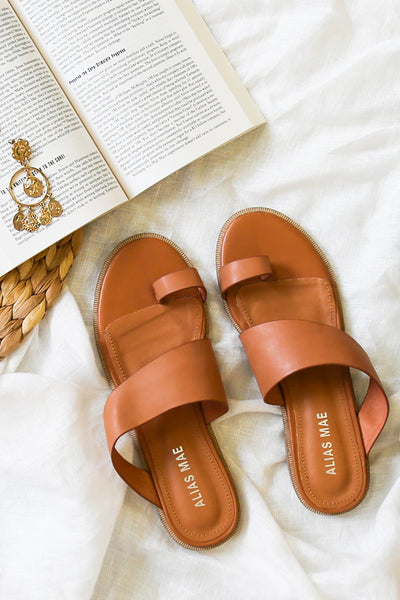 ALIAS MAE Thalissa Sandal Light Tan Leather