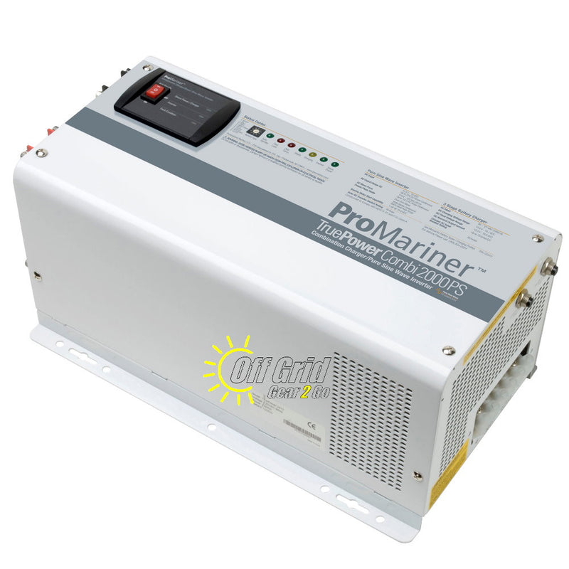 ProMariner 02012 TruePower Combi 2000 PS Pure Sine Wave