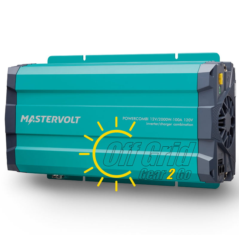 MASTERVOLT Model 36212000 - 12V/2000W-100A PowerCombi Pure Sine Inverter/Charger