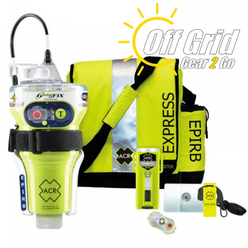ACR 2348 - GlobalFix V4 EPIRB Survival Kit
