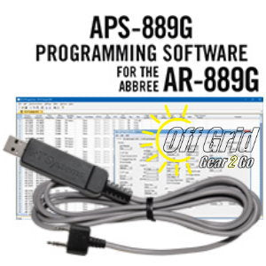 RTS Abbree APS-889G Programming Software Cable Kit