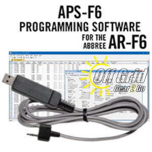 RTS Abbree APS-F6 Programming Software Cable Kit