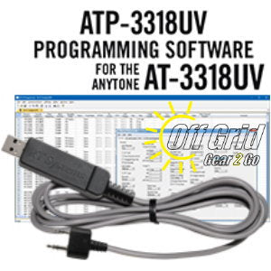 RTS Anytone ATP-3318UV Programming Software Cable Kit