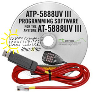 RTS Anytone ATP-5888UV III Programming Software Cable Kit