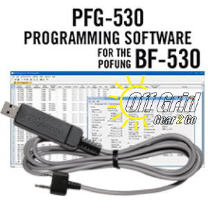 RTS Pofung PFG-530 Programming Software Cable Kit