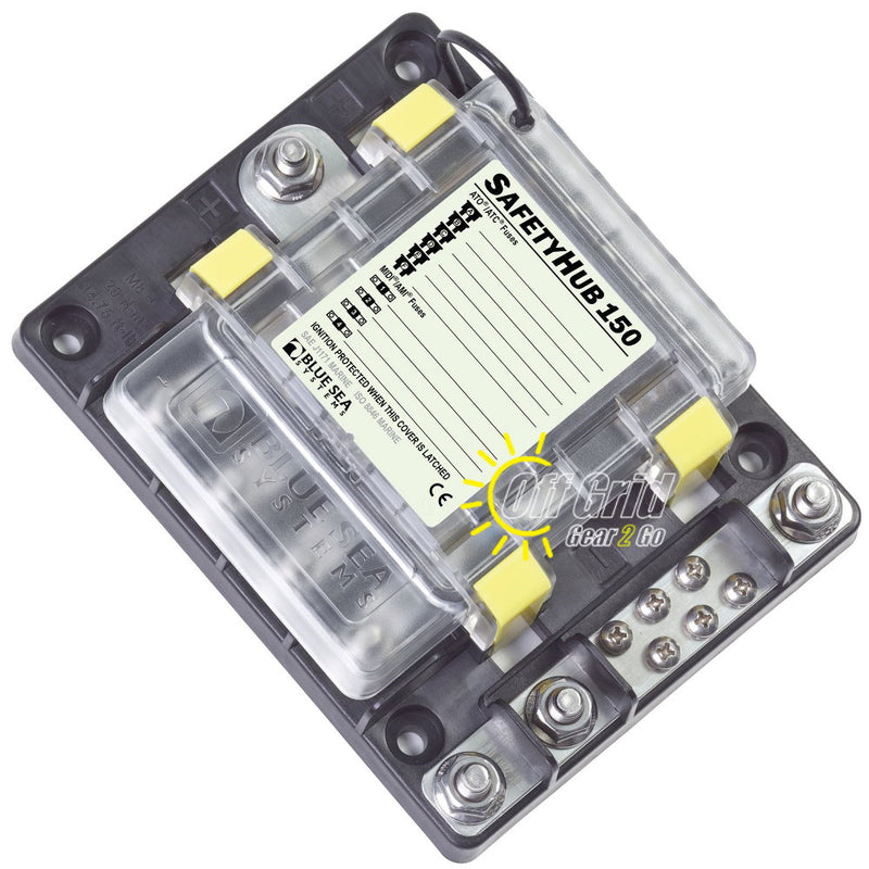 Blue Sea 7748 SafetyHub 150 Fuse Block