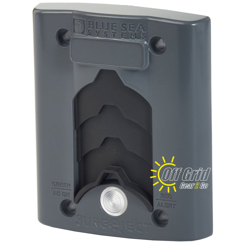Blue Sea BS7825 Optional Sure Eject Cover Plate - Gray