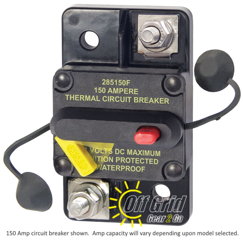 Eaton Bussmann CB285-150 Surface Mount Circuit Breaker, 120 Amps