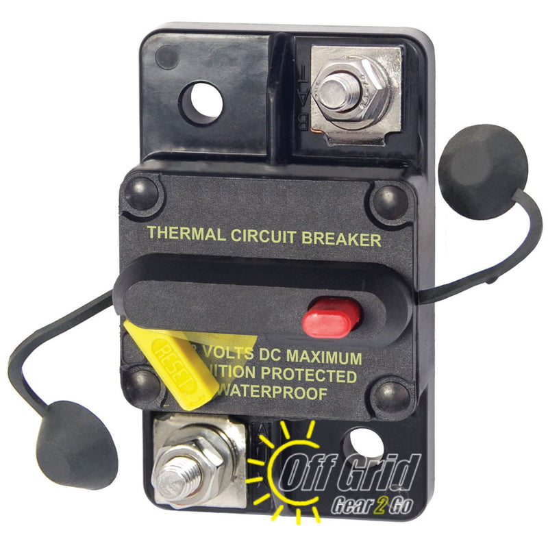 Eaton Bussmann CB285-80 Surface Mount Circuit Breaker, 80 Amps