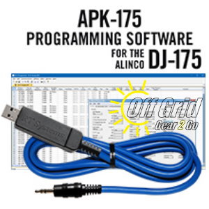 RTS Alinco APK-175 Programming Software Cable Kit