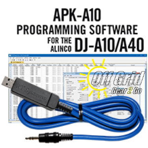 RTS Alinco APK-A10 Programming Software Cable Kit