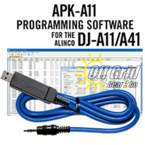 RTS Alinco APK-A11 Programming Software Cable Kit