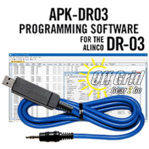 RTS Alinco APK-DR03 Programming Software Cable Kit