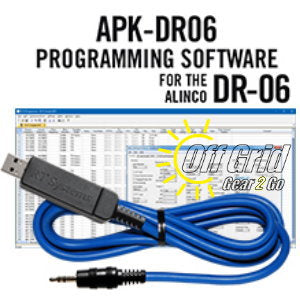 RTS Alinco APK-DR06 Programming Software Cable Kit