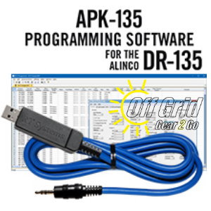 RTS Alinco APK-135 Programming Software Cable Kit