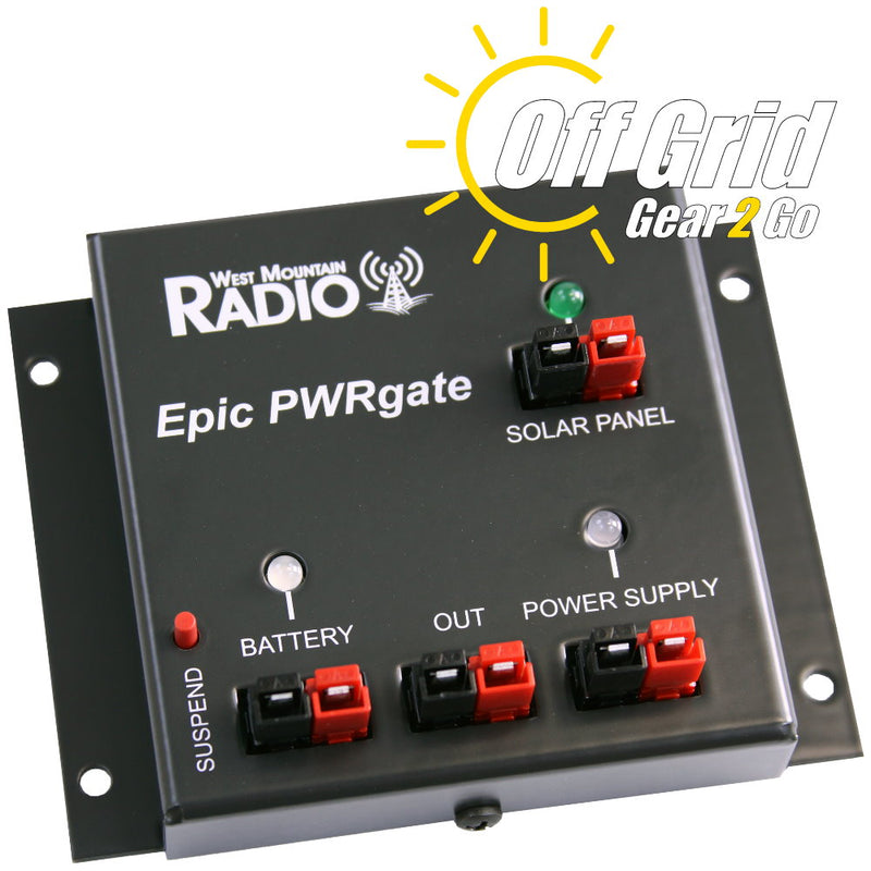 EpicPWRgate - 12V Backup Power System by West Mountain Radio