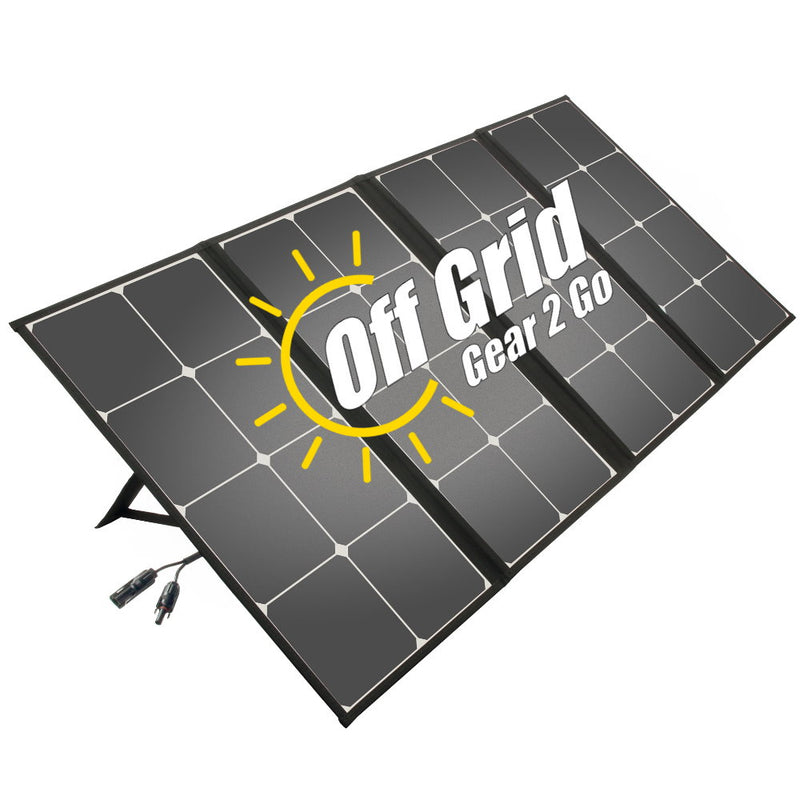 FSP-110W - Folding and Portable 110W Solar Panel