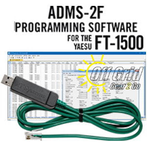 RTS Yaesu ADMS-2F Programming Software Cable Kit