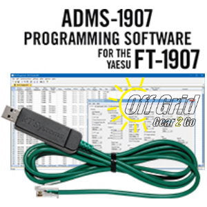 RTS Yaesu ADMS-1907 Programming Software Cable Kit