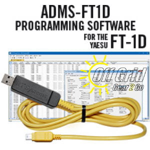 RTS Yaesu ADMS-FT1D Programming Software Cable Kit