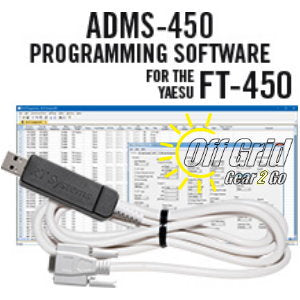 RTS Yaesu ADMS-450 Programming Software Cable Kit