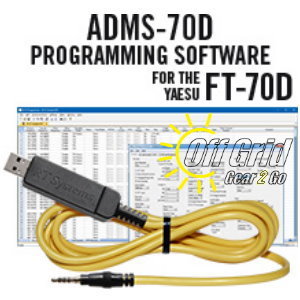 RTS Yaesu ADMS-70D Programming Software Cable Kit
