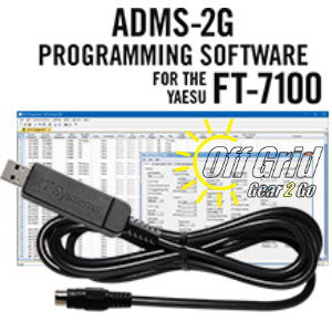 RTS Yaesu ADMS-2G Programming Software Cable Kit