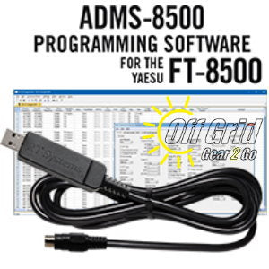 RTS Yaesu ADMS-8500 Programming Software Cable Kit