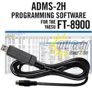 RTS Yaesu ADMS-2H Programming Software Cable Kit