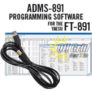 RTS Yaesu ADMS-891 Programming Software Cable Kit