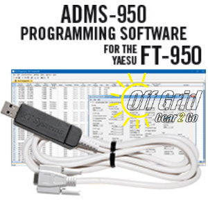 RTS Yaesu ADMS-950 Programming Software Cable Kit