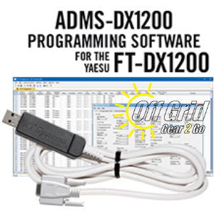 RTS Yaesu ADMS-DX1200 Programming Software Cable Kit
