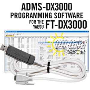 RTS Yaesu ADMS-DX3000 Programming Software Cable Kit