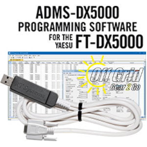 RTS Yaesu ADMS-DX5000 Programming Software Cable Kit
