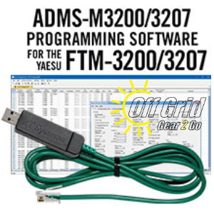 RTS Yaesu ADMS-M3200/3207 Programming Software Cable Kit