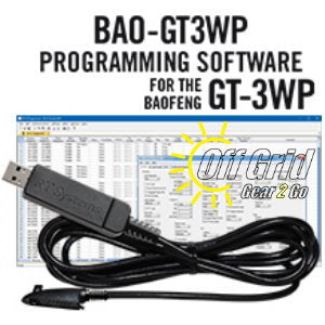 RTS Baofeng BAO-GT3WP Programming Software Cable Kit