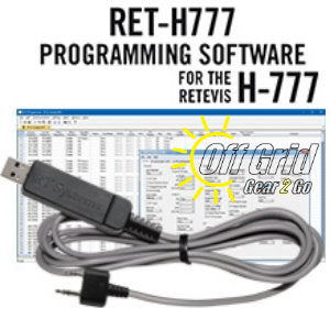 RTS Retevis RET-H777 Programming Software Cable Kit