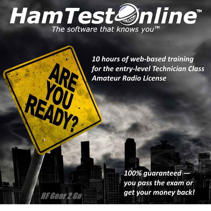 HamTestOnline Level 1 - Technician Class Level Internet Based Training (10 Hours)