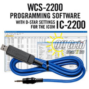 RTS ICOM WCS-2200 Programming Software Cable Kit