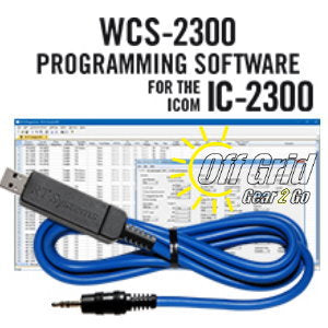 RTS ICOM WCS-2300 Programming Software Cable Kit