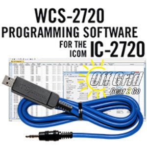 RTS ICOM WCS-2720 Programming Software Cable Kit