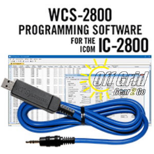 RTS ICOM WCS-2800 Programming Software Cable Kit