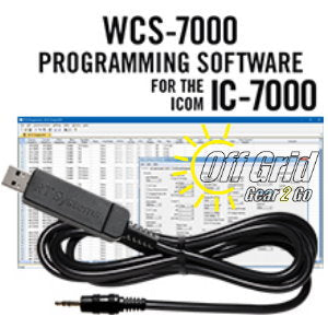 RTS ICOM WCS-7000 Programming Software Cable Kit