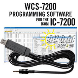 RTS ICOM WCS-7200 Programming Software Cable Kit