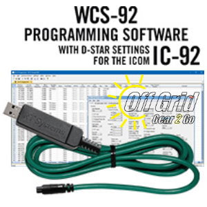RTS ICOM WCS-92 Programming Software Cable Kit