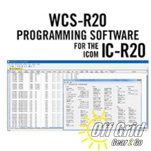 RTS ICOM WCS-R20 Programming Software Only