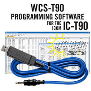 RTS ICOM WCS-T90 Programming Software Cable Kit