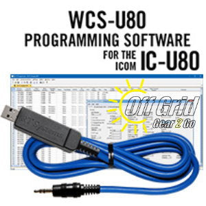 RTS ICOM WCS-U80 Programming Software Cable Kit