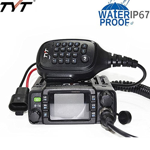 TYT TH-8600 Dual-Band IP67 Waterproof 25W Mini Mobile Transceiver