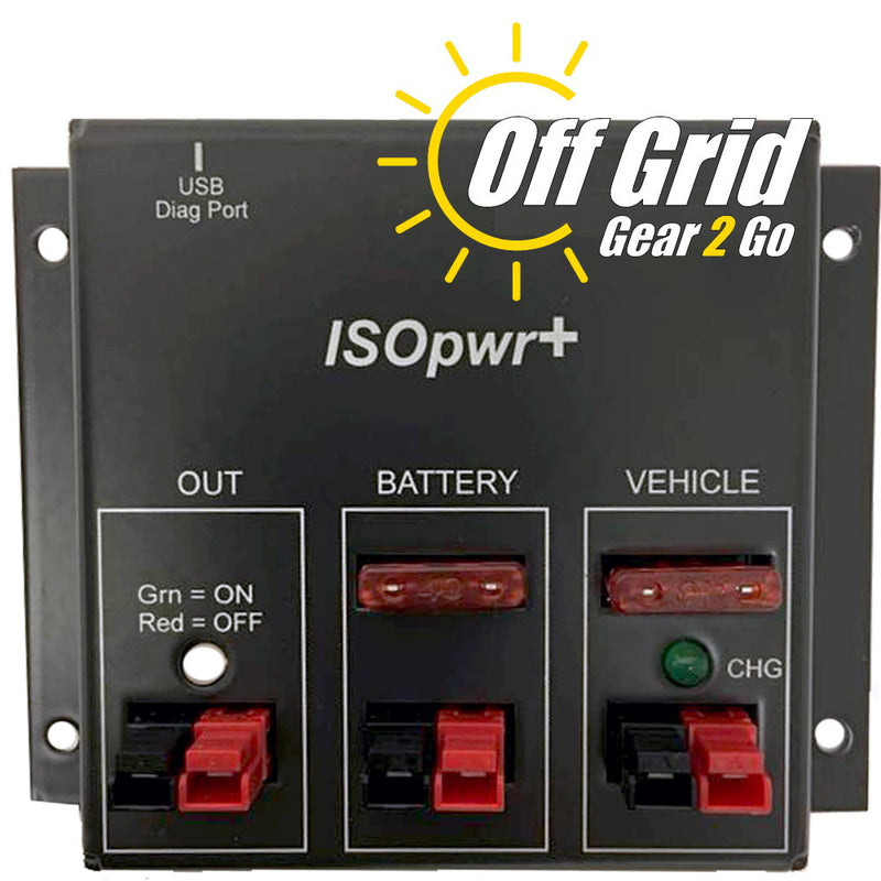 ISOpwr+ (Plus) - Auxiliary Battery Isolator by West Mountain Radio